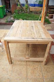 Pallet Home Tempting Woodpallettable Home Ideas Along With Wood Pallet Table