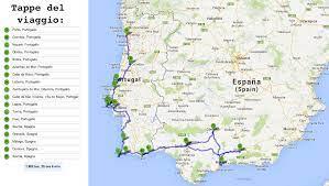 Il mio itinerario di due settimane tra Portogallo e Spagna