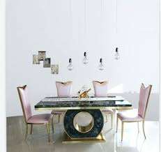 modern marble dining tables dining table set with good quality marble dining table black rose gold