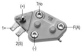 delco remy voltage regulator wiring diagram residential electrical Delco Remy Alternator Wiring Diagram voltage regulator for 40si series alternators rh store alternatorparts com gm internal regulator wiring diagram gm