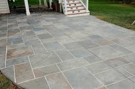 multi color grouted stamped concrete