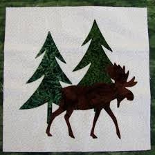 41 best Quilts - northwoods images on Pinterest | Abstract, Camo ... & Quilt blocks Appliqued blocks Northwoods set by JustMeToo on Etsy, $15.95 Adamdwight.com