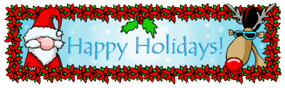 happy holidays banner gif. Simple Banner Animated Holidays GIF Intended Happy Holidays Banner Gif N
