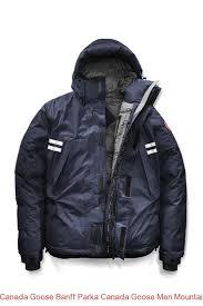 Canada Goose Banff Parka Canada Goose Men Mountaineer Jacket Black