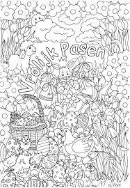 2 Prachtige Pasen Kleurplaten Van Suzanne Amels Kleurplaat