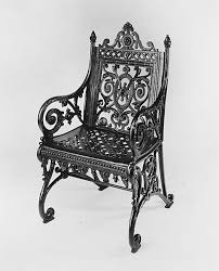 north american iron work 1877 1897 metropolitan museum garden furniture