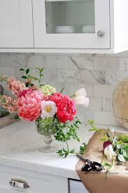 DIY floral centerpiece