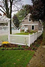 Vinyl picket fence front yard Decking Surround Your Yard With The Classic White Picket Fence Covington Vinyl Fencing From Vinyl By Pinterest 12 Best Vinyl Picket Fence Images Vinyl Picket Fence White Picket