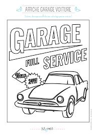Coloriage D U0027un Garage Service Pour Voiture Momes Net L L L