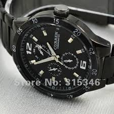 search on aliexpress com by image curren brand best military mens watches black stainless steel men wrist watch sport formal business watch ship