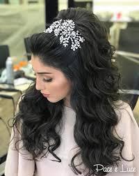 تسريحات شعر طويل للعروساختاري منها ليوم زفافك مجلة سيدتي
