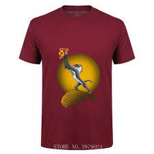 Pizza Shirt Designs Us 5 72 48 Off 2019 Pop Designer Funny Lion King Pizza T Shirt Men Short Sleeve Crew Neck T Shirt Summer Tshirt Crop Tops Hipster Tee Shirt In