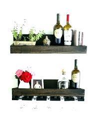 wine stemware rack ikea glass wall mounted wood best hanging