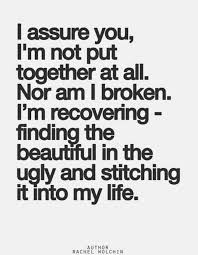 I M Beautiful Quotes Best of I'm Not Broken Just Recovering QuotesPics Pinterest
