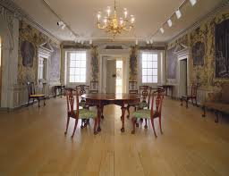 manor house interiors. woodwork and wallpaper from the great hall of van rensselaer manor house interiors i