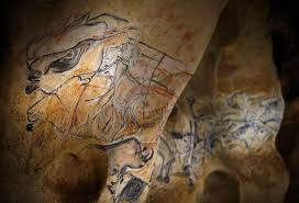 depictions of ancient animals in the caverne du pont d arc near vallon france a replica of chauvet cave guillaume horcajuelo epa corbis