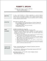 Good Resume Examples Beauteous what is the objective in a resume foodcityme