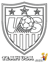 Soccer Coloring Sheets Fifa Usa Mls West Free Sports