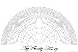 My Fan Chart Free Printable Family Tree Fan Chart Printable Blank Family