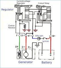 alternator regulator wiring diagram bestharleylinks info ford alternator regulator wiring diagram thesamba gallery mechanical voltage regulator internal