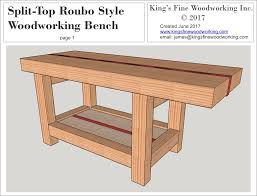 RouboStyle Workbench 11 Steps With PicturesRoubo Woodworking Bench