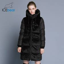 <b>ICEbear2018 new</b> high quality winter velvet jacket thick warm ...