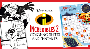 Our selection features favorite characters from the incredibles and incredibles 2 such as dash, mr. Incredibles 2 Coloring And Printable Activity Sheets Free Coloring Pages