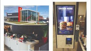 Mcdonalds Vending Machine Mesmerizing McDonald's Replaces Counter Help With Roboterminals