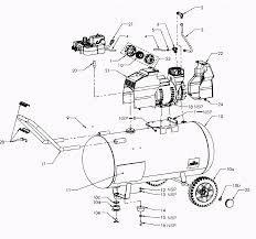 Sears craftsman 921 16473 parts master tool repair on air pressor drive belt air pressor pump replacement for sears craftsman oil free single stage