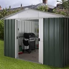 10x10 metal garden sheds yardmaster shed 10ft x 10ft apex galvanised steel