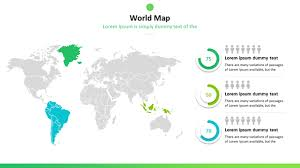 World Map Power Point Free Maps Powerpoint Templates By 24slides