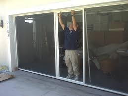garage door screens retractableBreezy Living Garage Door Screens Florida