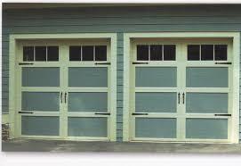 single garage doorCharlotte NC Residential Garage Doors Installations Wood Carriage
