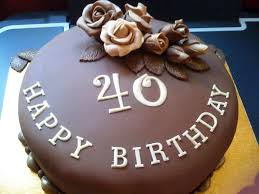 40th Birthday Cake Ideas 11 Cakes For Men 40th Birthday Party Ideas