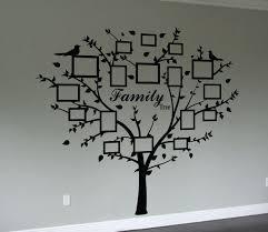 photo family tree wall art