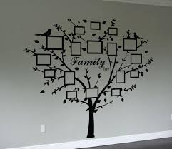 family tree e and decal frames