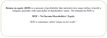 Return On Equity Ratio Definition Analysis High Vs Low