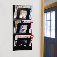 Office magazine racks Shelf Wall Mounted Three Tier Magazine Rack By The Metal House Pinterest Wall Mounted Three Tier Magazine Rack By The Metal House Enclosed