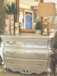 Bombay chest painted in General Finishes Argentine Pearl silver pearl  effects. ReBlessed | Poplar Bluff