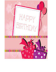 Birthday Cards Templates 40 Free Birthday Card Templates Template Lab