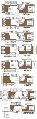 2 bedroom 5th wheel. 3 bedroom rv floor plan fifth wheel with loft bunkhouse motorhome travel trailer outdoor kitchen 5th 2