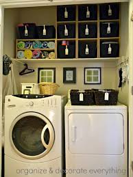 Small Laundry Ideas Remodelaholic 25 Ideas For Small Laundry Spaces