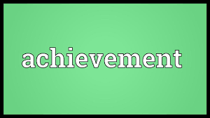Achievement Meaning Youtube