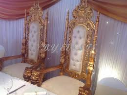 gold lion throne chairs hire only 150 gold wedding sofa