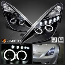 celica headlights 2000 2005 toyota celica led halo projector headlights jdm black left right