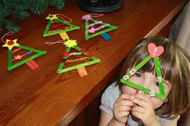 Christmas Crafts For Kids  Handprint Wreaths  LalyMomChristmas Crafts For Preschoolers