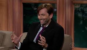 David Tennant on The Late Late Show With Craig Ferguson talking about his  Cockapoo Myrtle   Craig ferguson, David tennant, The late late show