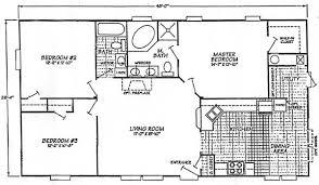 Bedroom Bath House Plans   Digaleri co    Bedroom Bath House Plans   Mobile Home Floor Plans Bedroom Bath
