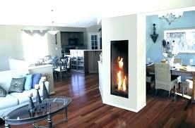 narrow electric fireplace black