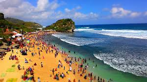 Image result for pantai indrayanti